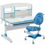 Парта и ортопедическое кресло GT Set (DS-1603 Blue+C-1238 Blue)